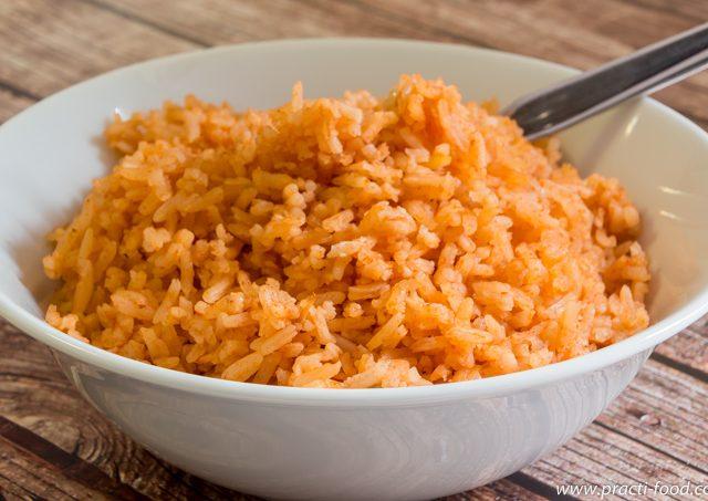 אורז מקסיקני אדום