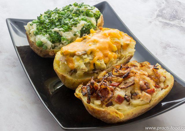 תפוחי אדמה ממולאים (או די לשחיתות?)
