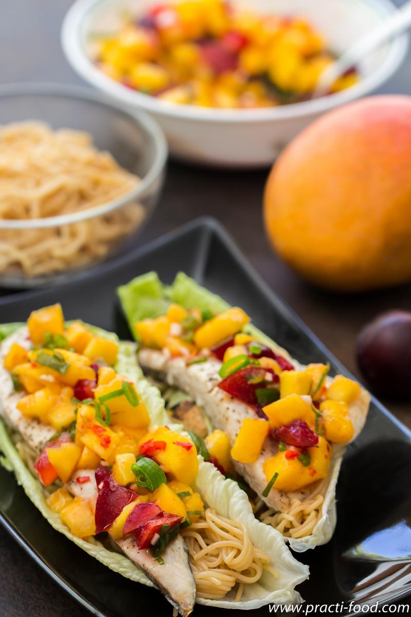 דג וסלסת פירות