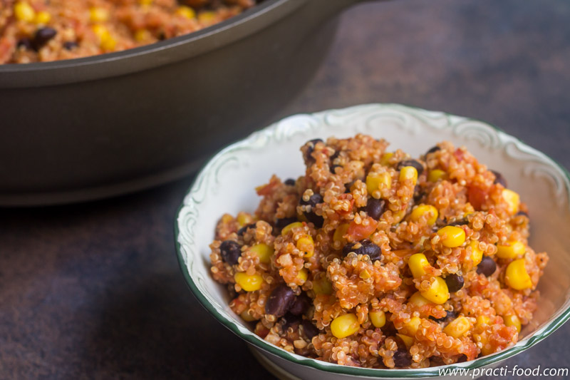 תבשיל קינואה מקסיקני