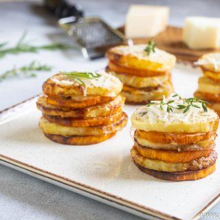 potato stacks