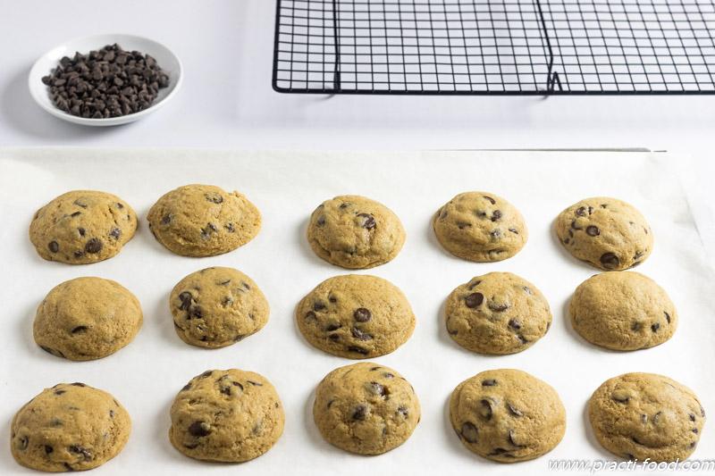 עוגיות שוקולד צ'יפס אחרי