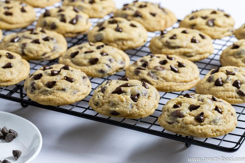 עוגיות שוקולד צ'יפס מוכן